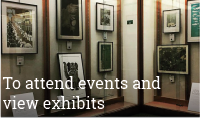 Visits to view exhibits from artists and organizations
