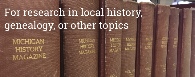 Visits for research in local history, genealogy, or other topics