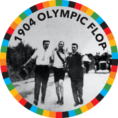 1904 Olympic Flop
