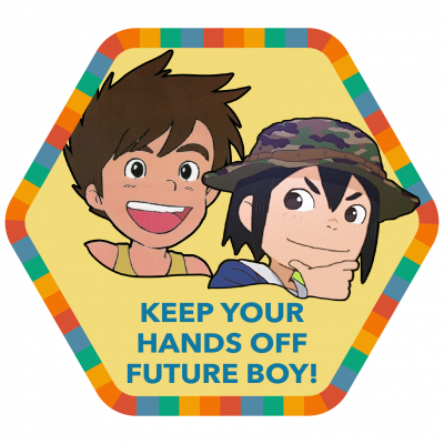 Keep Your Hands Off Future Boy! badge image