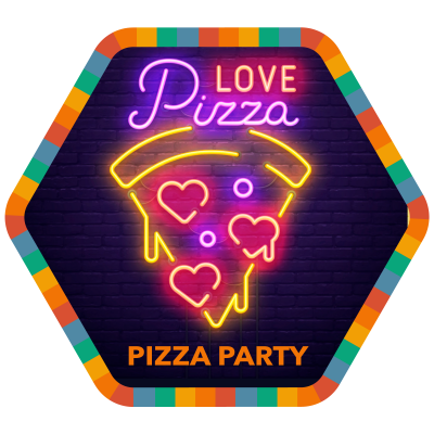 Pizza Party badge image