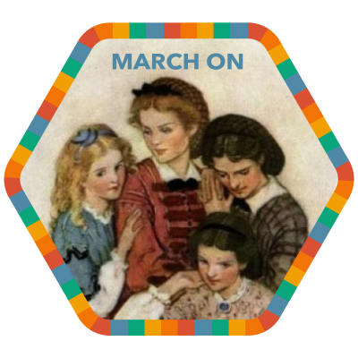 March On badge image