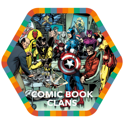 Comic Book Clans