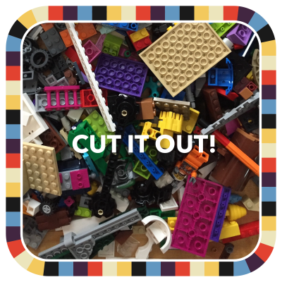 CUT IT OUT! badge image