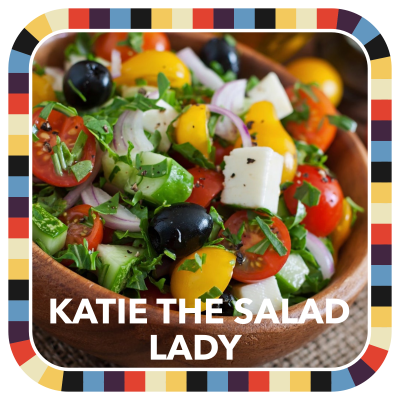 Katie the Salad Lady badge image