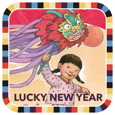 Lucky New Year badge image