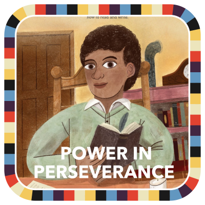 Power In Perseverance badge image