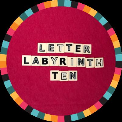 Letter Labyrinth Ten