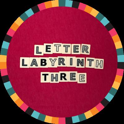 Letter Labyrinth Three