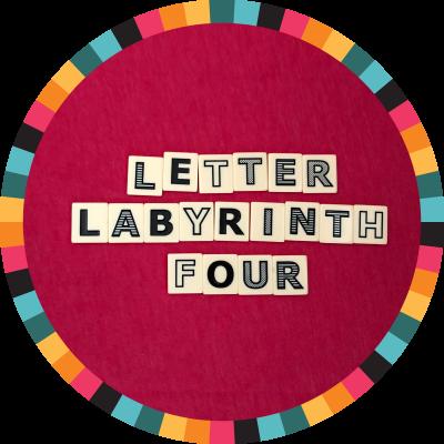 Letter Labyrinth Four