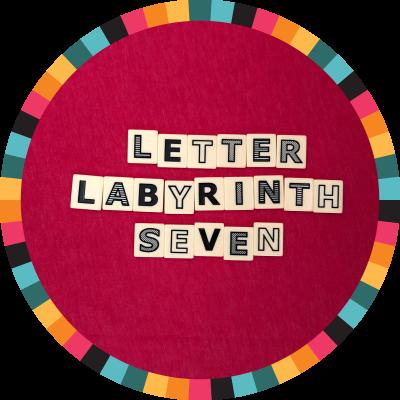 Letter Labyrinth Seven