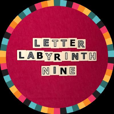 Letter Labyrinth Nine