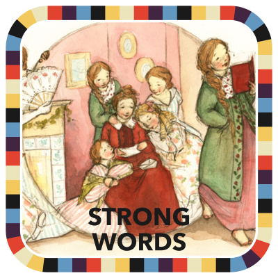 Strong Words  badge image