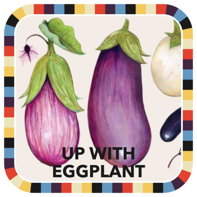 Up with Eggplant badge image