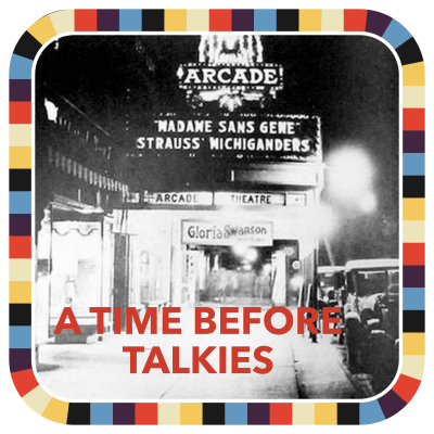 A Time Before Talkies badge image