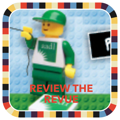 Review the Revue badge image