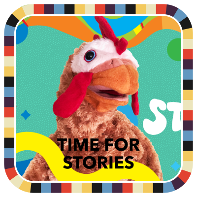 Time for Stories badge image