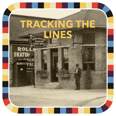 Tracking the Lines badge image