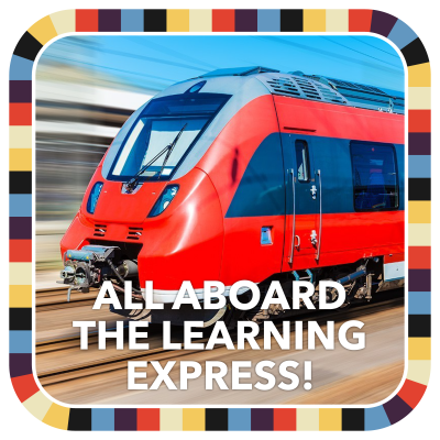 All Aboard the Learning Express! badge image