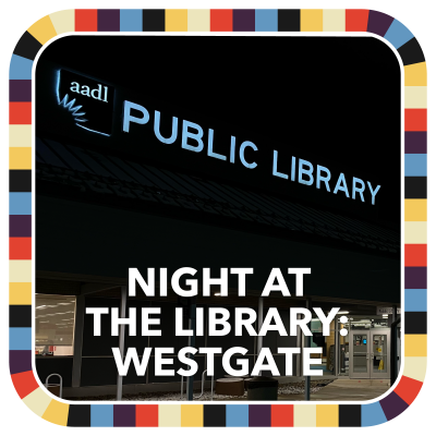 Night at the Library: Westgate badge image