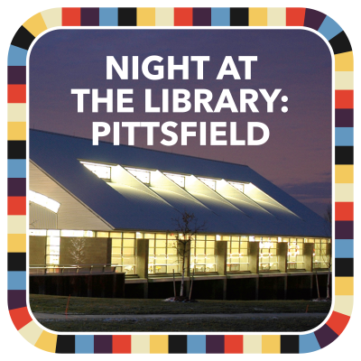 Night at the Library: Pittsfield badge image