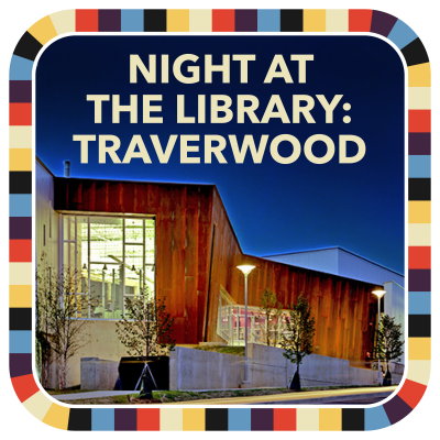 Night at the Library: Traverwood badge image