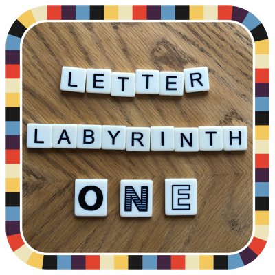 Letter Labyrinth One badge image