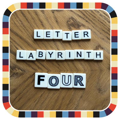 Letter Labyrinth Four badge image