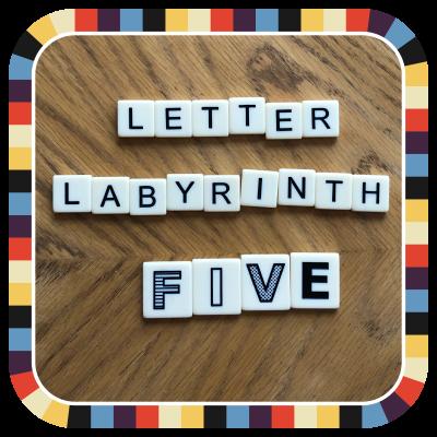 Letter Labyrinth Five