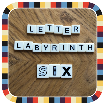 Letter Labyrinth Six badge image