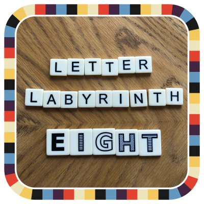 Letter Labyrinth Eight badge image