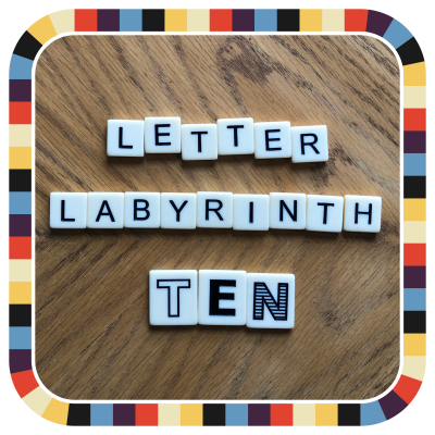 Letter Labyrinth Ten
