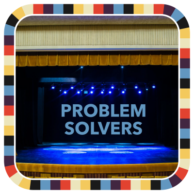 Problem Solvers badge image