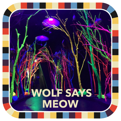 Wolf Says Meow badge image