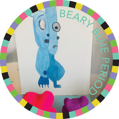 Beary Blue Period