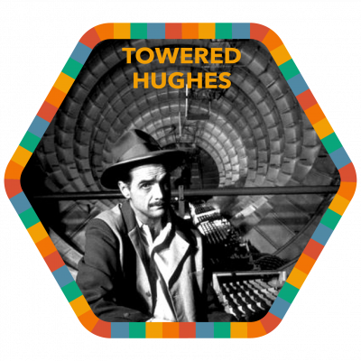 Towered Hughes badge image