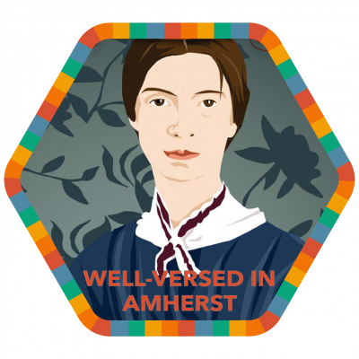 Well-Versed in Amherst badge image