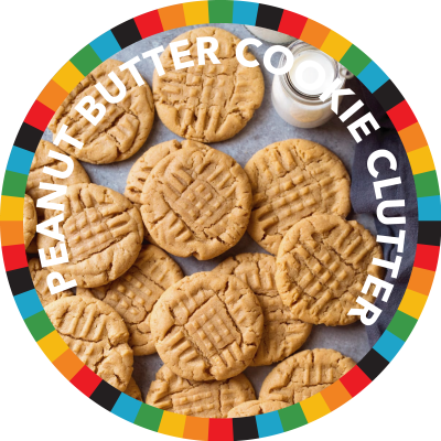 Peanut Butter Cookie Clutter image