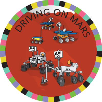 Driving on Mars image
