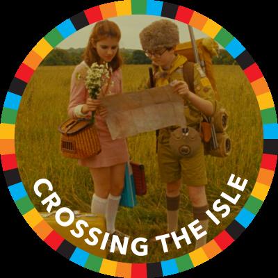 Crossing the Isle