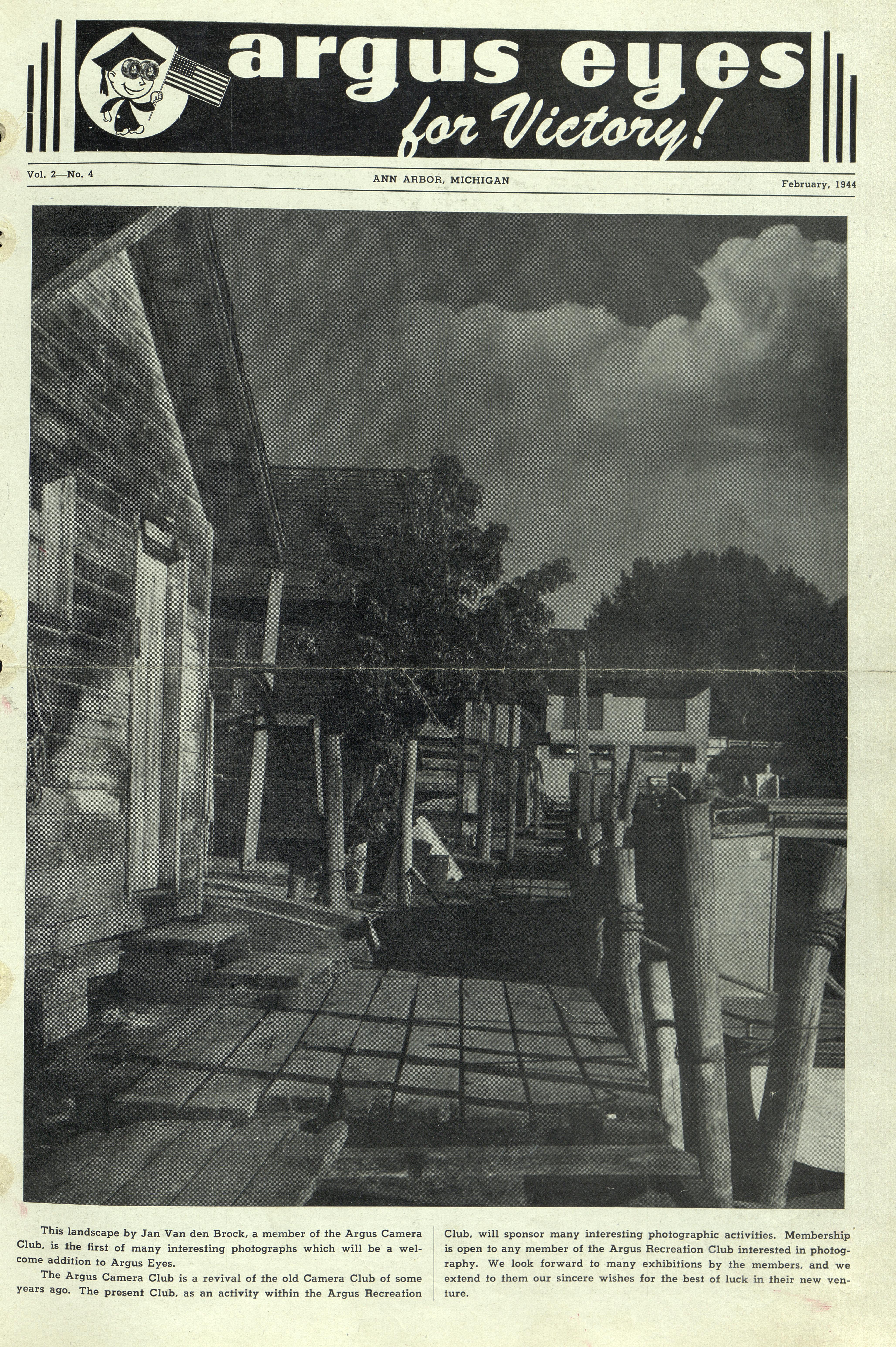 Argus Eyes February 1944 Ann Arbor District Library