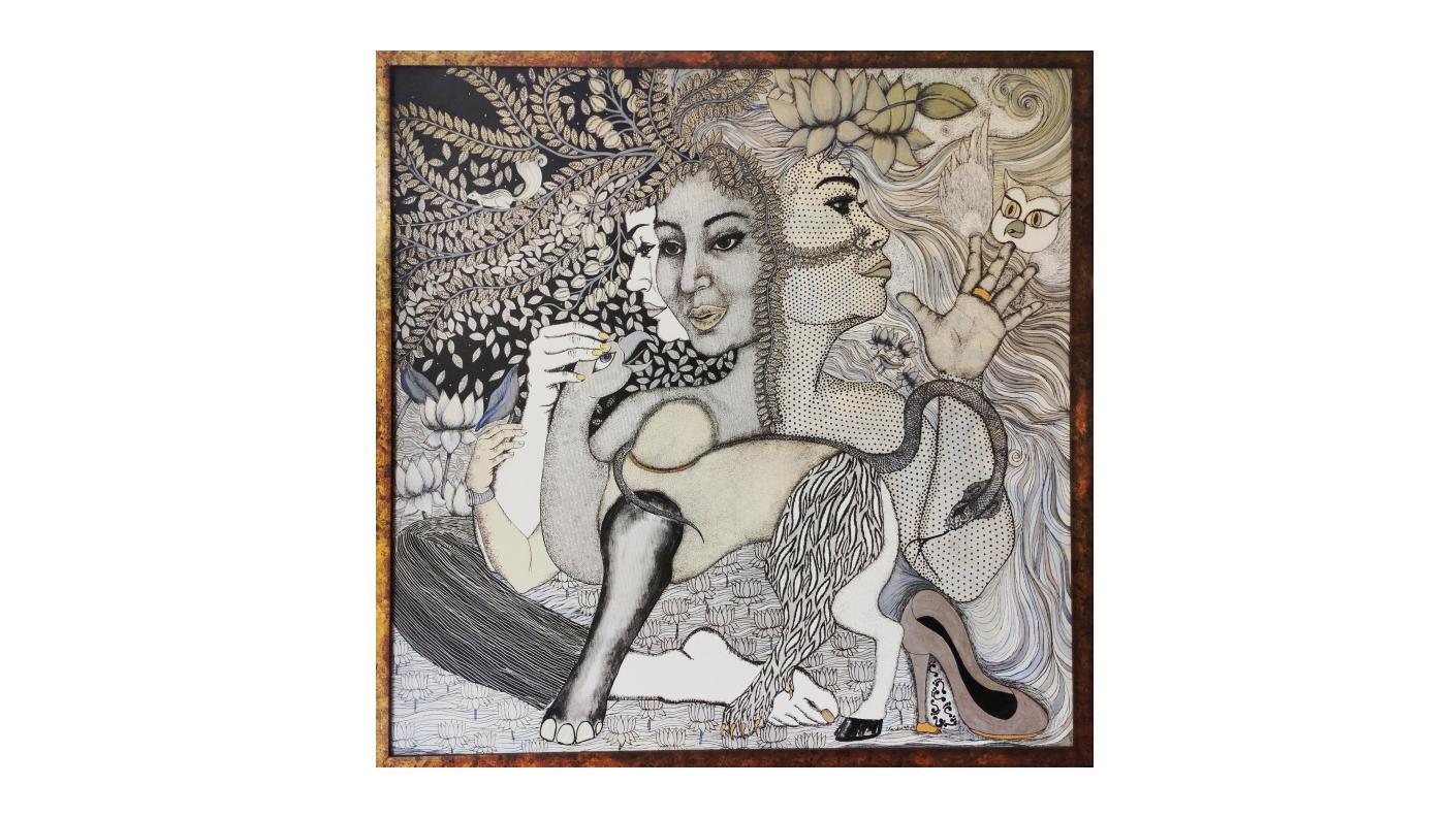 Lakshmi and Her Consort, Etc.