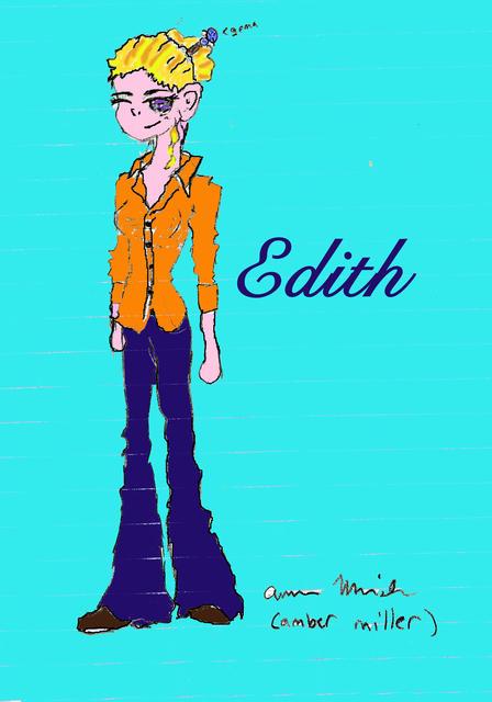 Librarian Edith