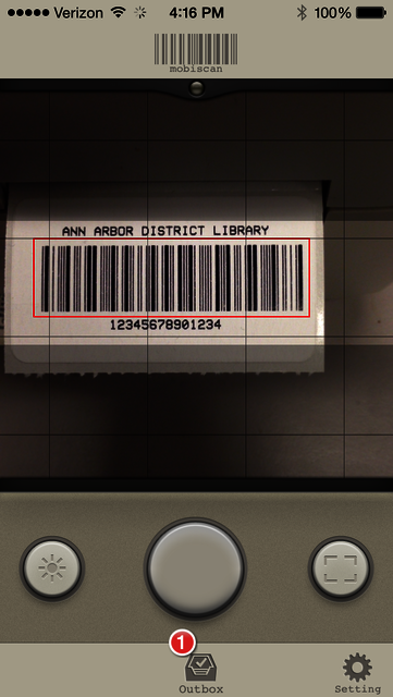 Custom Barcode Scanning from your iPhone | Ann Arbor