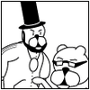 Achewood: Ray and Beef as the Notorious L.I.N.C.O.L.N.