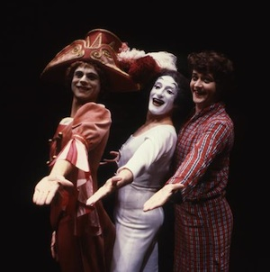 Marcel Marceau on Stage