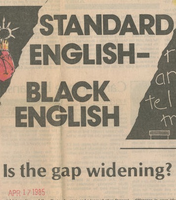 Black English crop