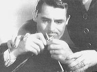 Cary Grant Knitting