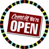 SG Shop is OPEN!: Open Sign in a Badge