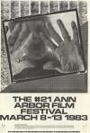 Cover image for Entry Form for 21st Ann Arbor Film Festival